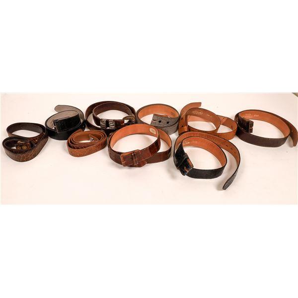 Vintage Men's Belt Collection (8)  [136475]