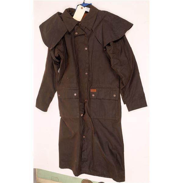 Women's Oilskin Duster Jacket  [131997]