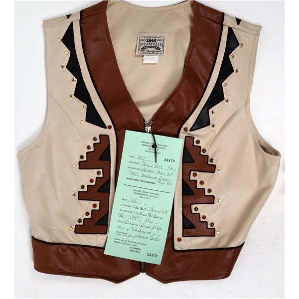 Women's Western Show Vest  [131995]