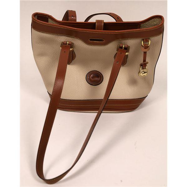 Dooney & Bourke Pebbled Leather Bucket Bag  [132989]