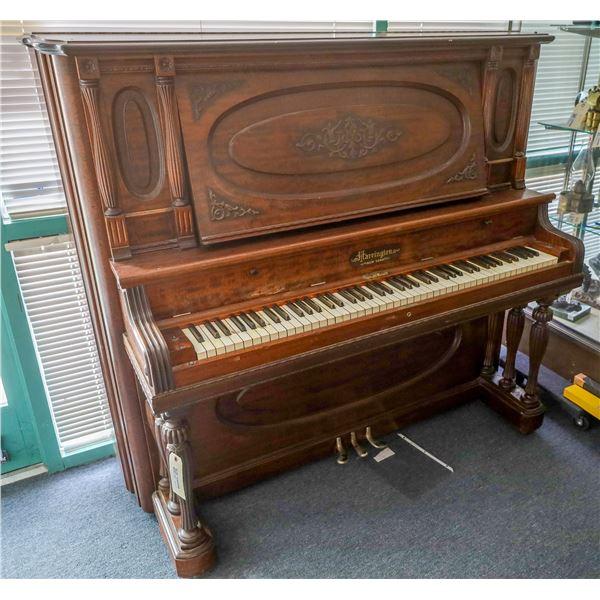Harrington Upright Grand Piano SN 27189  [133726]