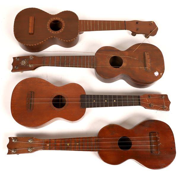Ukulele 1920s Collection of Four  [136331]