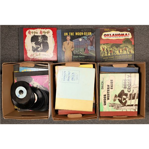 Collection of 78 rpm Artist Folios  [138828]