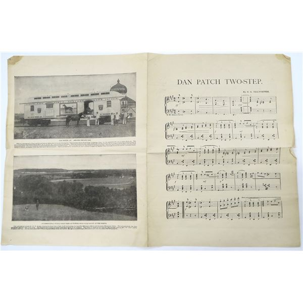 The Dan Patch Two Step Sheet Music  [135909]