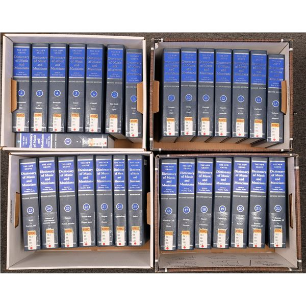 New Grove Dictionary of Music and Musicals: 29 volumes  [131991]
