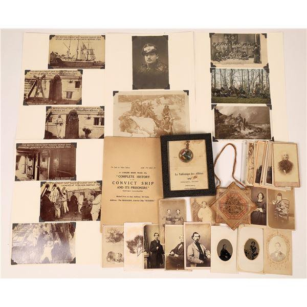 1890-1918 Photo Memorabilia  [136909]