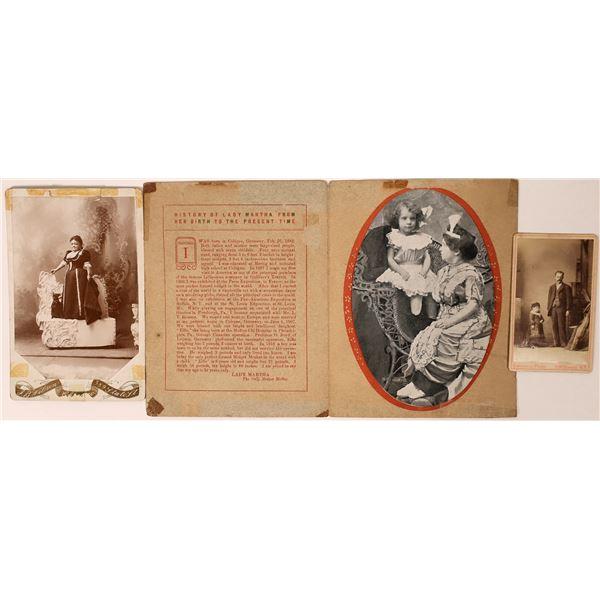 Photographs of Famous Midgets  [135723]