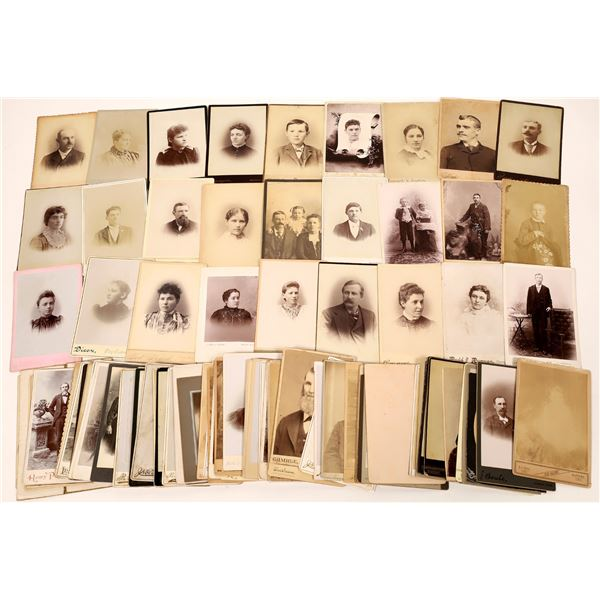 Mid-West Cabinet Card Photograph Collection (101)  [137454]