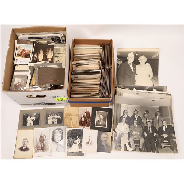 People of the Late 19th & Early 20th Century Photo Archive (2000+ pieces)  [137540]