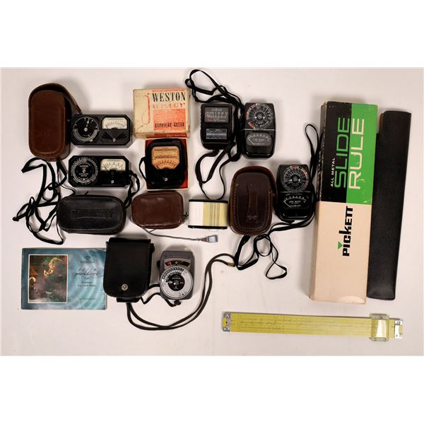 Camera Light Exposure Meters Grab Bag (8 Pieces, Gossen Pilot plus!)  [137563]