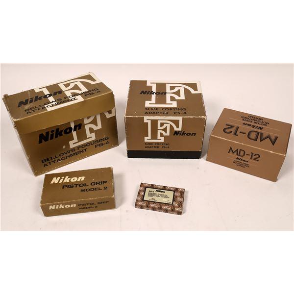 Nikon Camera Accessories (5 pieces)  [137562]