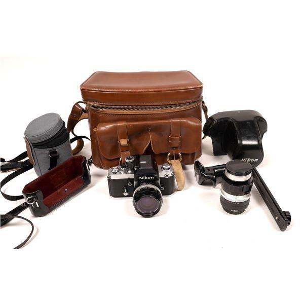Nikon F2 Camera 24mm Lens F 2.8 & Skylight Filter  [137559]