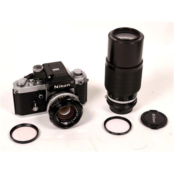 Nikon F2 Camera with Nikkor-SC Auto 1:1.4 F50mm Lens  [137561]