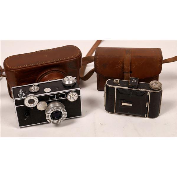 Vintage Cameras Lot of 2   [137558]