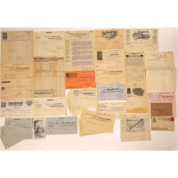 Jewelry Manufacturers Ephemera Collection  [132631]