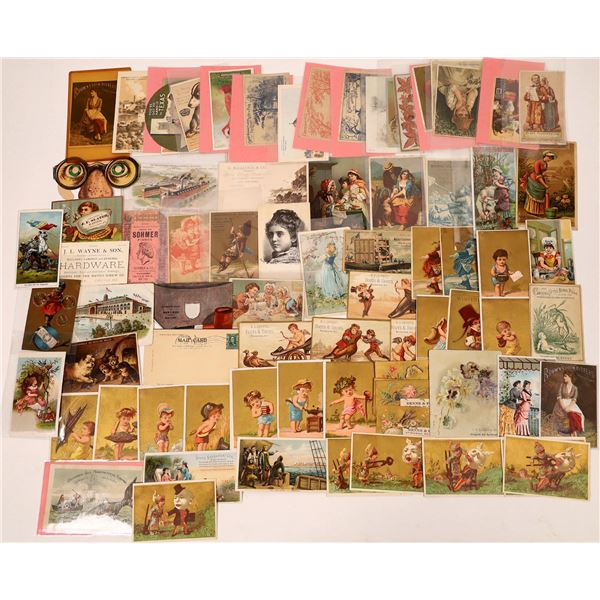 Trade Card Collection, 19th Century  [137422]