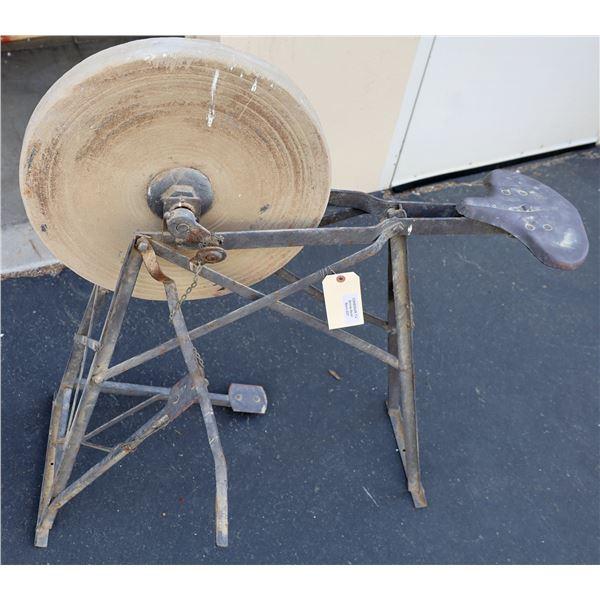 Sharpening Wheel, Antique  [136030]