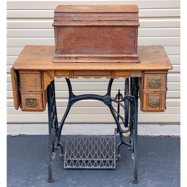 "Singer Sewing Machine /""  Memphis Sphinx"".  [109721]"