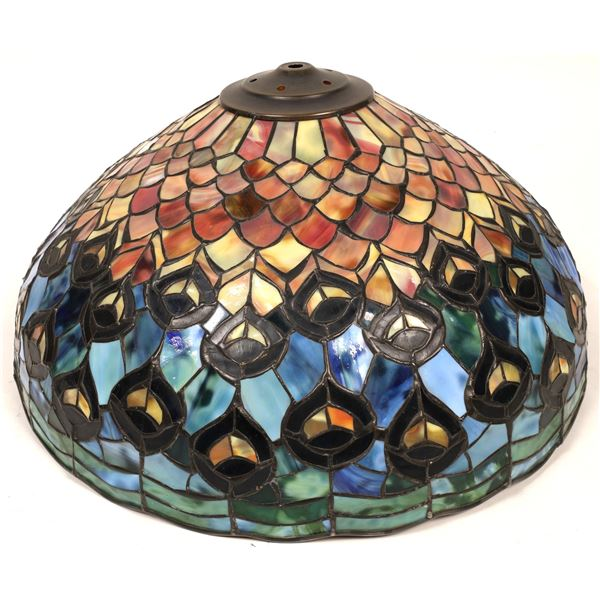 Stained Glass Lamp in Tiffany Style  [136677]