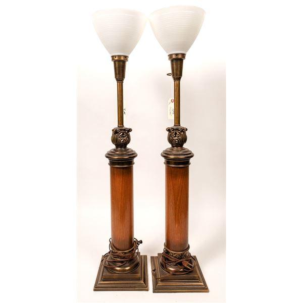 Pair of Vertical Lamps  [135157]