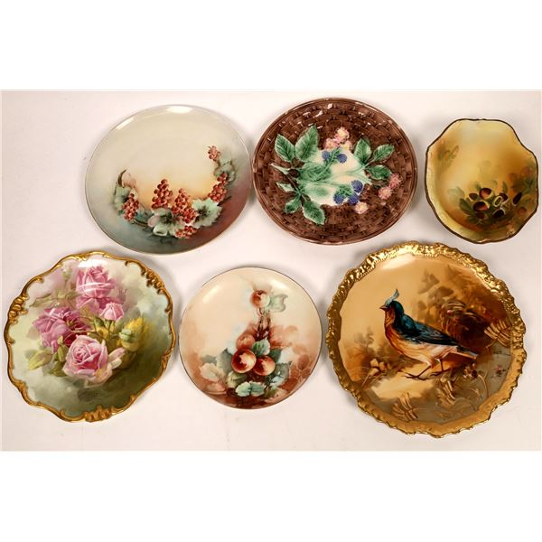 Hand Painted China Pieces (6)  [136871]