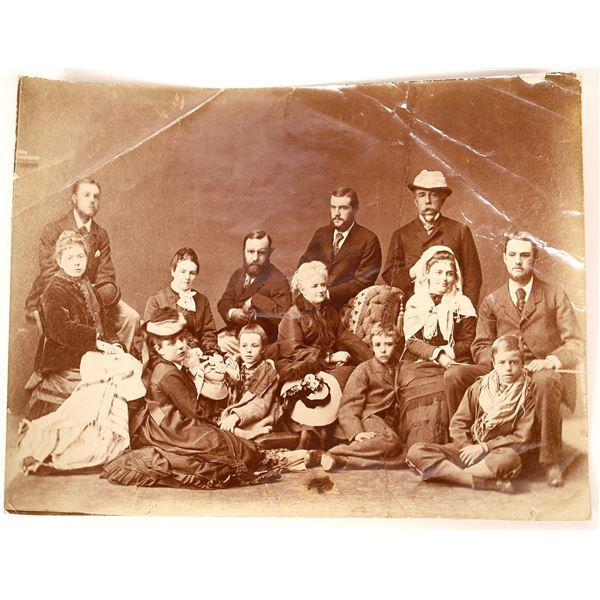 Theo Roosevelt Family Trip to Jerusalem, c1873   [134192]
