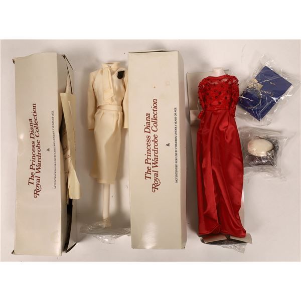 Two Costumes From the Princess Diana Royal Wardrobe Collection  [135002]