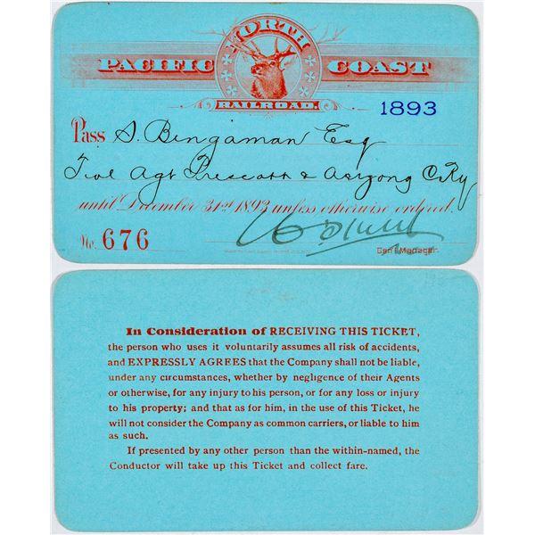 North Pacific Coast Railroad Annual Pass  [138873]