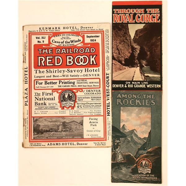 Denver & Rio Grande Western Railroad Brochures  [132615]