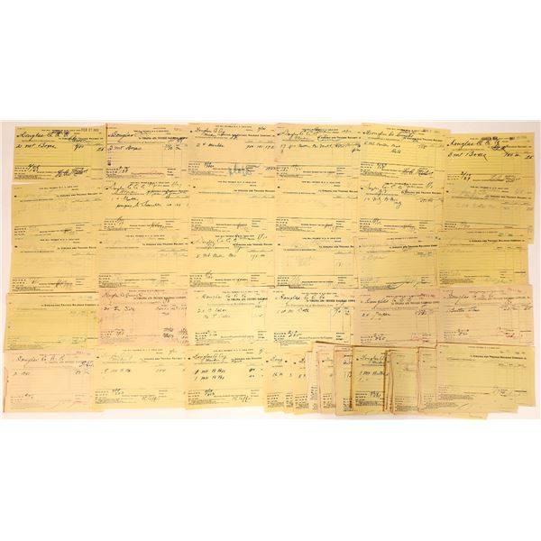 Virginia & Truckee Railroad, Douglas County Creamery Shipping Archive  [135271]