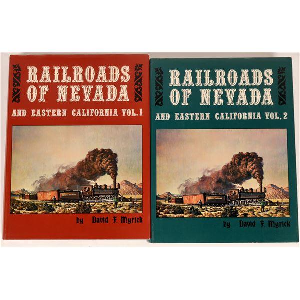 Railroads of Nevada, 2 Volumes, Mint  [135036]