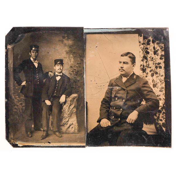 Tintypes of Railroad Employees  [134184]