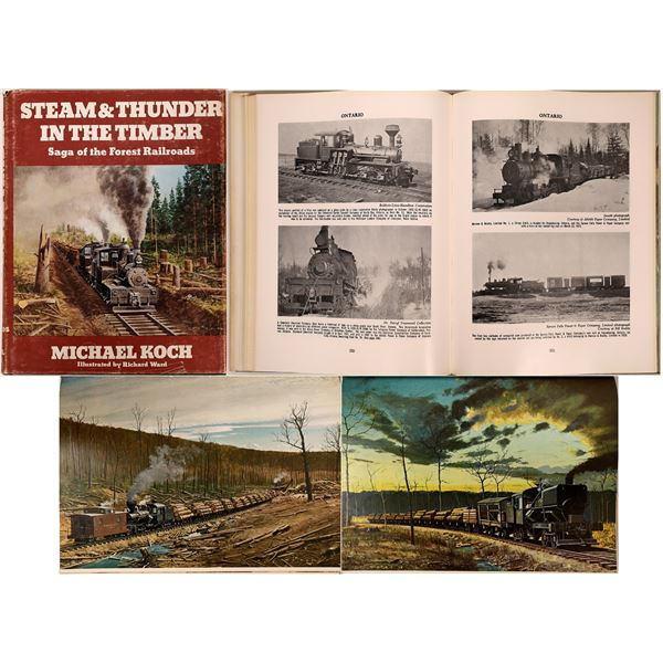 """""""Steam & Thunder in the Timber,"""" Saga of the Forest Railroads  [136358]"""