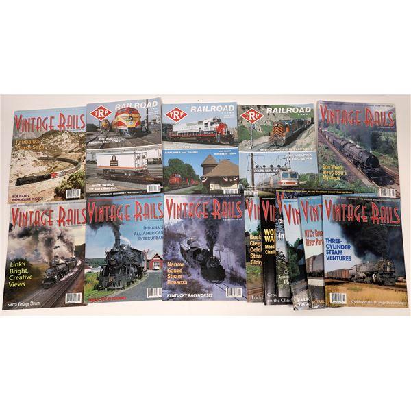 American Historical Railway Magazines (14)  [136882]