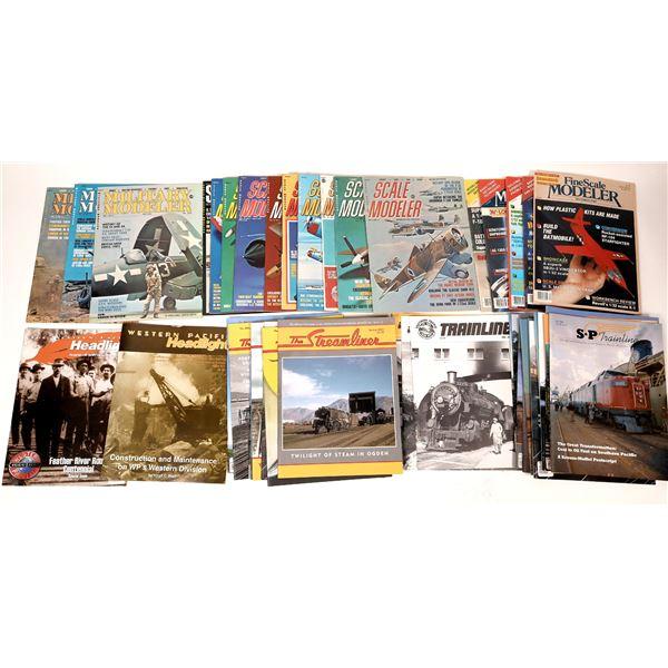 Railroad & Modeling Magazines (40)  [137634]