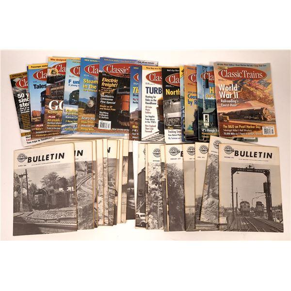 Railroad Magazines, Two Sets (35)  [137633]