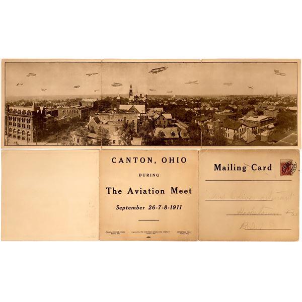 Aviation Meet Photo Panorama 1911  [135115]