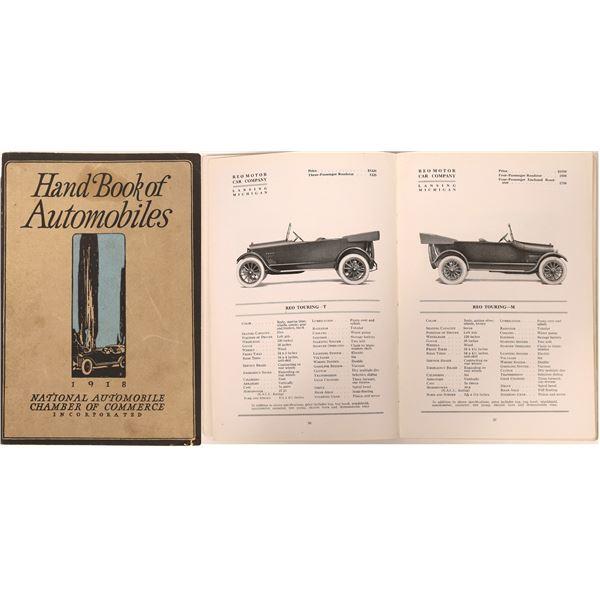 Hand Book of Automobiles 1918  [135101]