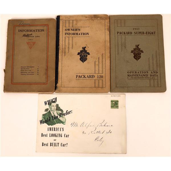 Packard Auto Manuals  [135103]