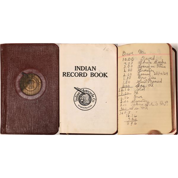 Indian Motorcycle Record Book  [135958]