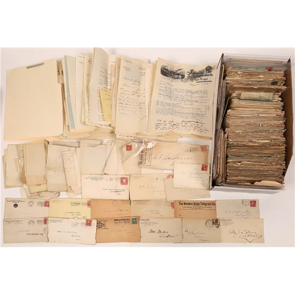 Business Correspondence with Covers and Contents c1895-1910  [137651]