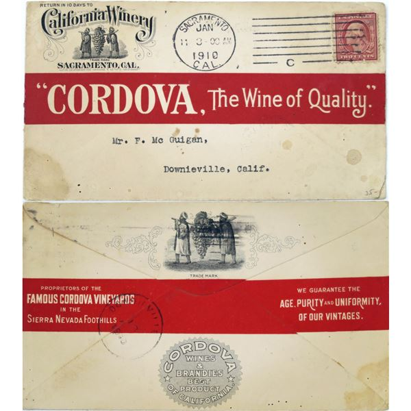 Cover From California Winery  [135910]