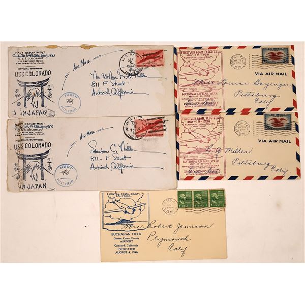 WWII Postal Covers  [135621]