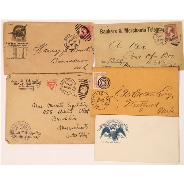Misc. Postal Cover Group  [135933]