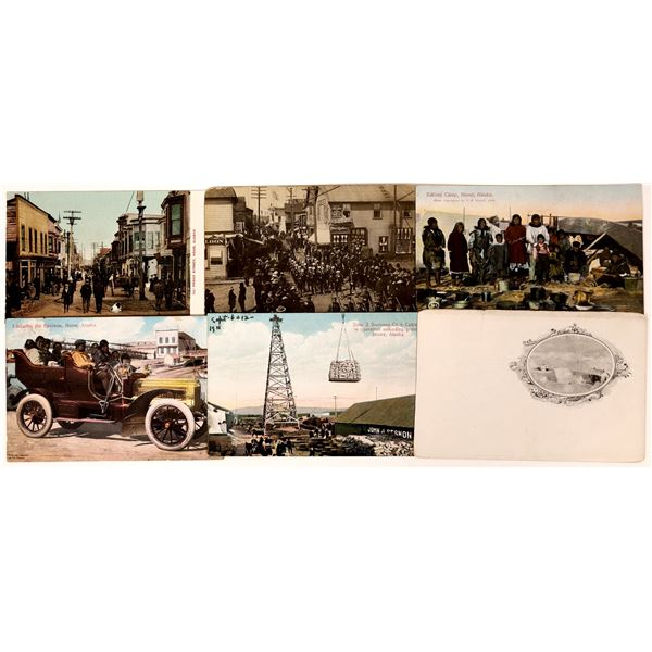 Alaska Gold Rush Postcards  [137468]