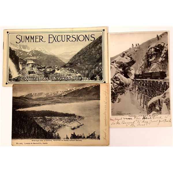 Alaska Train Postcard Collection  [137465]