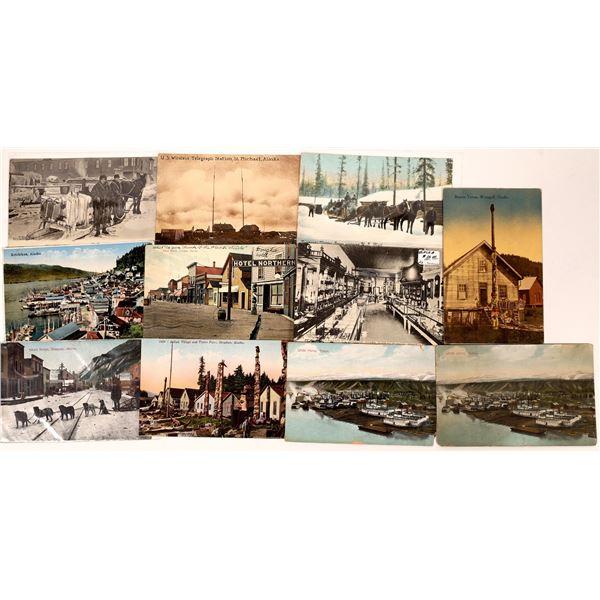 Alaska Old Postcard Collection  [137467]