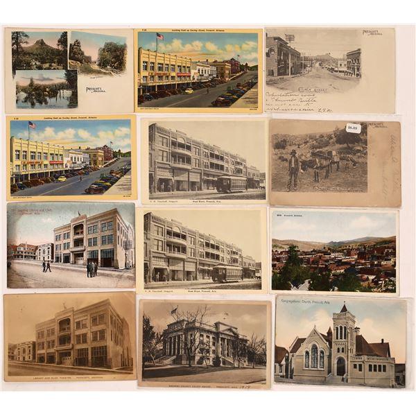 Prescott Postcard Group (12)  [137754]