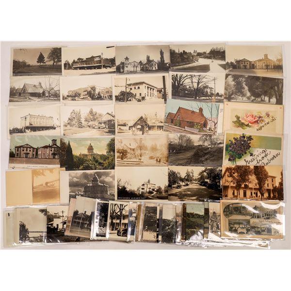 Auburn & East Auburn, California Postcards (50)  [136050]