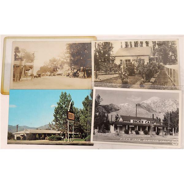Big Pine, Olancha Area Postcard Group (4)  [137905]